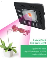 cob wachsen panel großhandel-300W COB LED wachsen Licht Hydro Vollspektrum Veg Flower Indoor Plant Lamp Panel