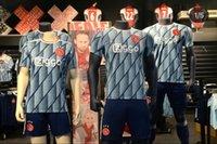 Wholesale new football jersey set for sale - Group buy Top quality AJAX FC Soccer jersey ajax Adult kit TADIC NERES NOURI DOLBERG HUNTELAAR ZIYECH jersey new ajax football set