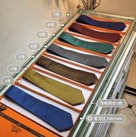 seda usada al por mayor-La corbata Fashion Business de la corbata para hombre también se puede usar como una corbata de seda de sarga hecha a mano con un top de emparejamiento diario