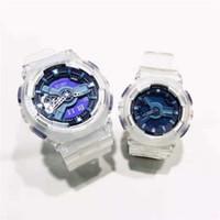 en iyi spor saati toptan satış-Ucuz Yeni Geldi Moda Çift Saatler Kadın Erkek Spor Saatler Açık Spor Su Geçirmez Saat severlerin İzle sevgililer En Iyi Hediye