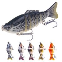 Wholesale hard lures 16g resale online - Fishing Lures Sinking Wobblers Swimbait Hard Bait Artificial Fishing Tackle Lure Segment cm g LJJZ259