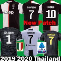 f3d2ba84640 2019 2020 RONALDO JUVENTUS Kits goalkeeper DYBALA MARCHISIO MANDZUKIC  Soccer Jerseys 19 20 camisetas CHIELLINI Bernardeschi Football Shirt