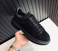Wholesale big toe mens casual shoes for sale - Group buy Fashion Men Women Platform Trainers Leather Suede Casual Shoes Designer Sneaker Oversized Sole Shoes Luxury Mens Trainers Big size