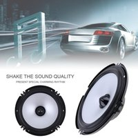 Wholesale music stereo system for sale - Group buy LaBo Front Door Audio Music Stereo Coxial Speakers System Inch W Car Coaxial Speaker