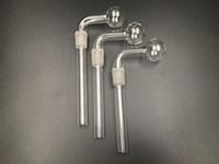tubos de tipo al por mayor-2019 Nuevo tipo doblado Ash Catcher Glass Funnel Bowls Downstems 19mm Male Joint Smoking Glass Bongs Quemador de aceite Pipas de agua Accesorios