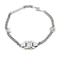 ingrosso catene esterne-19ss ALYX Bracciale collana catena in metallo Uomini Donne Hip Hop Accessori Outdoor ALYX Via sorriso collana