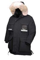 горячие снежные куртки оптовых-2019 горячие продажа новое прибытие топ копия Канада мужчины снег мантра куртка пальто черный темно-синий куртка зима вниз куртка мех с бесплатной доставкой на выходе