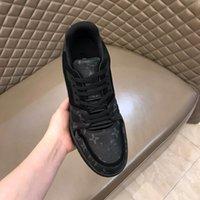 Wholesale brand designer shoes for men resale online - mens Designer sneakers unisex trainers shoes running shoes for men womens runners flats Genuine Leather racer shoes RD101