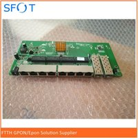 port voller poe-schalter großhandel-POE Reverse Schaltschrankbau, 8-Port-Gigabit-Voll ohne WEB Managed Ethernet Reverse-PoE-Switch mit 2 SFP-Ports