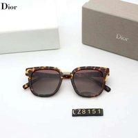 mujeres refinadas al por mayor-Gafas de sol de diseño Gafas de sol de lujo Gafas de moda para hombre Mujer Gafas Adumbral Refinadas UV400 con caja de alta calidad 5 colores opcionales