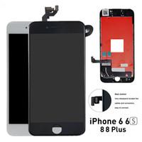 orden iphone lcd al por mayor-visualización de la pantalla LCD paneles táctiles del teléfono celular para el iPhone iPhone Plus 8 8 iPhone 6s reemplazo del teléfono móvil de reparación
