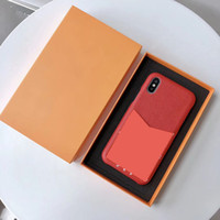 Wholesale luxury designer phone cases for iphone Pro Max plus Fashion With card bag back cover for iphone X XR XS MAX