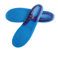 Wholesale foam shoes for men online - New Shoe Silicone Gel Pad Insert Insole Comfortable Cushion Anti Vibration Soft Sport Shoe Insole Pad For Men Women Shoe Insole Run Pad