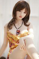 ingrosso giapponese bella sesso libero-Spedizione gratuita bella faccia metà solido 165 centimetri reale silicone bambola del sesso grande seno può riempire con acqua bambola del sesso giapponese