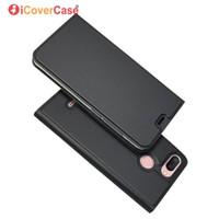 cas pour xiaomi rouge mi achat en gros de-Pour Xiaomi Redmi 6 Flip Cover Case Magnet Portefeuille En Cuir Mobile Téléphone Accessoire Sac Pour Xiaomi Rouge mi 6 Livre Carte Coque
