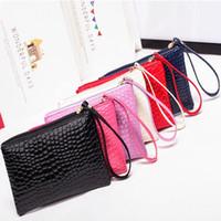embrayage mobile achat en gros de-femmes Livraison gratuite sac d'embrayage grande capacité sac cadeau sac de téléphone mobile porte-monnaie