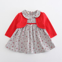 ba1db12e84b4f Wholesale kids girl peter pan collar online - Baby Clothes Toddler Kids  Baby Girls One Piece