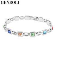 чудесные украшения оптовых-Fashion Charming Crystal Bracelet Elegant Jewelry Wonderful Women Wedding Valentine'S Day Christmas Gift