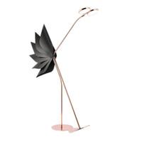 стойки для торшеров оптовых-Новый чистый красный светодиодный торшер Nordic Model Room Stand Lamp Luxury Fashion вертикальная подставка свет гостиная кабинет спальня светодиодные торшеры