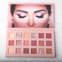 Wholesale huda beauty eyeshadow 18 colors for sale - Group buy High quality HUDA BENSE Colors Eyeshadow Palette NUDE Rose Gold Textured Palette Makeup Eye shadow Beauty Palette Matte Shimmer