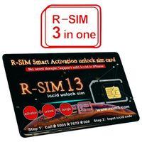 Wholesale iphone original unlock sim online - Original RSIM13 Rsim13 Smart Activation unlock sim card for ios12 R SIM card iccid unlocking for iPhone Max XR X IOS12 G GSM CDMA