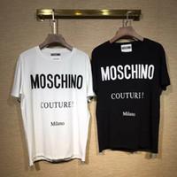 mujer harajuku al por mayor-Diseñador de moda de la marca camiseta para hombre camiseta pareja deporte marea ropa camiseta Hip Hop Harajuku camiseta mujer ropa