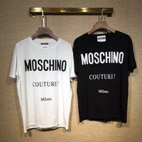 markalı çift gömlek toptan satış-Moda Marka Tasarımcısı T Gömlek Erkek Tee Gömlek Çift Spor Gelgit Giyim Tshirt Hip Hop Harajuku T-shirt Kadın Giyim
