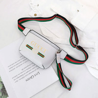 Wholesale mens fanny pack fashion for sale - Group buy Mens Waist Bag Luxury Fanny Pack With Letter Printed New Fashion Ladies Fannypack For Women Street Style Outdoor Chest Bag B104426X