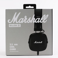 Wholesale dj over earphone headphone resale online - Marshall Major III Bluetooth Headphone DJ Headphone Deep Bass Noise Isolating Headset Earphone Major III Bluetooth Wireless