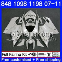 Wholesale 1198s fairing for sale - Group buy Body For DUCATI R HM S S S R S R Pearl White hot R Fairing
