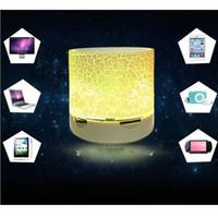 chinesische telefone ios großhandel-1 STÜCKE auto qualität Mini Bluetooth Lautsprecher A9 Led-lampe Subwoofer Drahtlose Tragbare Lautsprecher Stereo HiFi Player für IOS Android Phone Frauen geschenk