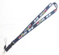 Wholesale badge charms for sale - Group buy car logo Neck Strap Lanyard ID Badge Mobile Phone Charms Key Chain C18