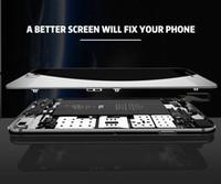 huawei 3c touch onur toptan satış-YENI Sınıf A + + + LCD Ekran iphone 6 Için Dokunmatik Digitizer Komple Ekran Çerçeve ile Tam Meclisi Değiştirme iPhone 6 Için Artı DHLfree