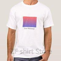 männerhemd-art und weisefotos großhandel-Arbeiten Sie coole Mann-T-Shirt Frauen lustige T-Shirt Gewohnheit addieren Foto und Text T-Shirt Schablone kurzes Hülsen-grundlegendes T-Shirt um