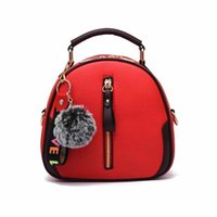 d8fae4005687 2019 backpack one shoulder hand bag bag women on the new small bag little  lady new fashion Korean version with cross body