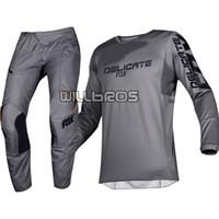 piedra gris al por mayor-2019 180 Prizm Piedra Gris MX Gear Set Motociclismo Motos Off-Road Motorsports adultas Jersey Pantalones Combo