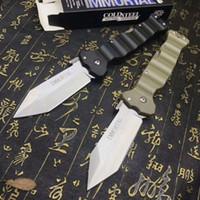 katlanır yaşam kampı cep bıçağı toptan satış-İnsanın 1pcs a2901 için SOĞUK ÇELİK 23GVG IMMORTAL 8CR13MOV Katlama Cep Kamp Survival Bıçak Noel hediyesi bıçaklar