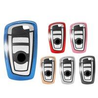 auto clave inteligente al por mayor-Bolsas de la cubierta de la caja de la llave del coche de TPU para Bmw 1 3 4 5 6 7 Series X3 X4 F10 F20 F30 Smart 3 botones Shell Bolsas auto protección llavero