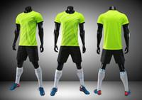 trajes de carreras femeninas al por mayor-18 nuevos mejor ropa ropa de entrenamiento carrera de botes dragón de fútbol se adaptan a adultos de sexo masculino mesa de luces del equipo de encargo jerseys uniformes de los niños femeninos
