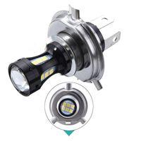 LED 30W HS1 12V White 5000K Two Bulbs Head Light Replace Motorcycle Bike