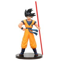 ingrosso figura di pvc del dragonball-Dragonball Super Movie Figure Son Goku Broly The 20th Film Limited Statue Figurine Action Figure Model Toy