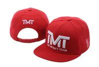 sombreros del equipo snapback envío gratis al por mayor-TMT Imprimir Snapback Sombreros Famosa Marca Equipo de Baloncesto Correr Gorras de Béisbol Snapbacks Sombreros envío gratis