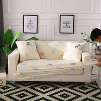 Wholesale furniture sofas couches resale online - Single Two Three Seater Stretch Sofa Slipcover Anti Slip Couch Sofa Cover Furniture Protector with Anti Skid Foam Elastic Bottom