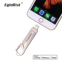 Wholesale flash drive for iphone for sale - Group buy Usb Flash Drive For iPhone S Plus S P Plus X iPad Lightning USB Memory Stick GB Pendrive for iOS External storage