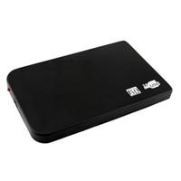 usb hdd 2tb al por mayor-Protable Ultrafino USB 2.0 Disco Duro HDD de 2.5 pulgadas Disco SATA Caja de Caja de Almacenamiento Externo Soporte Disco Duro de 2TB