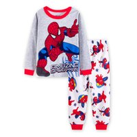 Wholesale nightgowns for kids for sale - Group buy 2019 New childen Marvel Hulk Pajamas for Kids Sleepwear Boys Girls Nightgown Children Pyjamas Ironman Spiderman Pijama