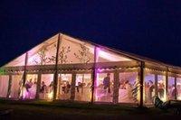 tentes tubulaires achat en gros de-Tente de fête de mariage de chapiteau en verre transparent en aluminium de 600 personnes