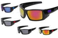 bisiklet güneş gözlüğü yüksek kalite toptan satış-Erkekler ve kadınlar için new klasik Stil gascan güneş gözlüğü açık spor bisiklet gözlük yüksek kalite sunglass