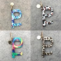 Wholesale convenient key rings resale online - Alloy Key Chain Colorful Door Opener Buckle No Contact Door Elevator Opening Ring Tools Convenient Carry tw B2
