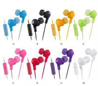 Wholesale Gumy Plus HA FR6 Earphones Gummy Earphone Phone HA FR6 Earphones Headphone Headphones Earbuds mm With Mic For mobile phone HTC HA FR6
